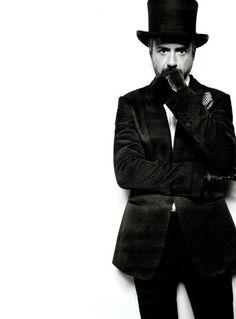 Robert Downey Jr aka MR SHERLOCK HOLMES
