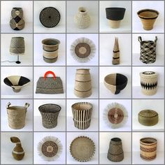Africa | A selection of African baskets available through Design Africa | www.designafrika.co.za
