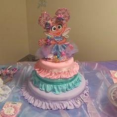 Pin for Later: Can You Tell Me How to Bake a Sesame Street Cake? It's . . . Abby! Source: Instagram user th_110