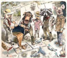 ILLUSTRATION ART: THE SKETCHBOOKS OF JOHN CUNEO