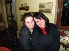 Otro bar,donde vamos yo y mis amigas, esa és Amanda.