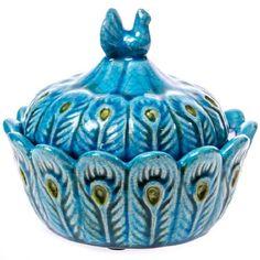 Ceramic Bowl & Lid
