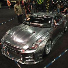 Steel Nissan GT-R by chariotz. Click to view more photos and mod info.