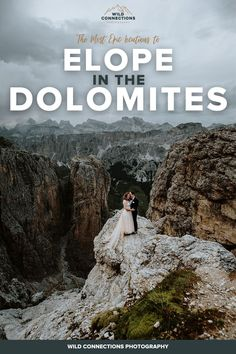 Everything you need to know about planning an elopement wedding in the Dolomites region of the Italian Alps Switzerland Destinations, Top Destinations, Beach Elopement, Elopement Wedding, Elopement Inspiration, Elopement Ideas, Best Wedding Planner, Wedding Planning, Wild Camp