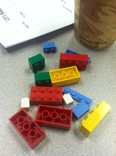 Lego cooperation/communication activity. good for first week of school.