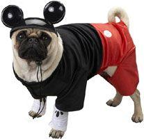 Mickey Dog Costume