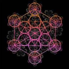 <3 metatron's cube
