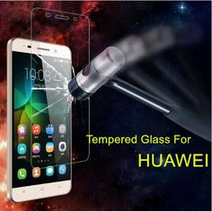 Tempered Glass Screen Protector For Huawei P9 P8 Lite P7 GR3 GT3 GR5 Y3C Y5 C Y3 II Y5 II Y6 Pro Honor 7 4C 5C 5X 3C 8 Film Case