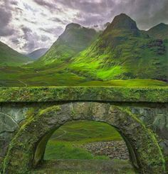 Ancient Arch The Highlands Glencoe