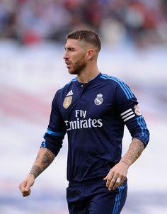 Un talSergio Ramos, a favor del equipo Merengue.