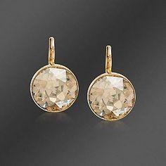 These earrings instead: #Houlihans #SoWinningThis    swarovski crystal bella drop earrings