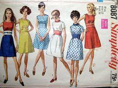 vintage pattern, simplicity