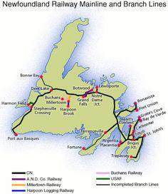 The Branch Lines: Newfoundland and Labrador Heritage Gros Morne, Labrador Facts, White Labrador, Atlantic Canada, Canadian Travel, Newfoundland And Labrador, New Brunswick, Nova Scotia, How To Be Outgoing