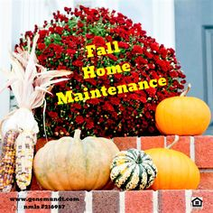 Now complete this Chicagoland Fall home maintenance. Be prepared and safe for the coming winter - Dekoration Ideen 2019