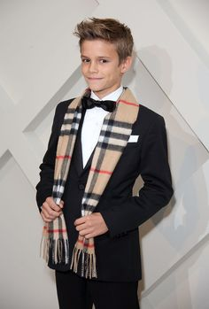 Celebrity Gossip, Entertainment News & Celebrity News | Romeo Beckham Outshines His Famous Parents on the Red Carpet | POPSUGAR Celebrity