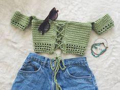 Off Shoulder Tube Top Festival Top Crochet Crop Top