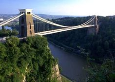 Clifton Suspension Bridge and other things to see in Bristol via Carole Isambard Kingdom Brunel, Flight And Car, North Somerset, Places In England, British Countryside, Suspension Bridge, British Isles, Places Around The World, Golden Gate Bridge