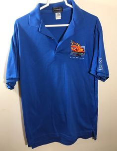 Olympics 1996 Atlanta Polo Rugby IBM Men Shirt Med 90s Made in USA  | eBay