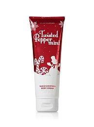 Bath & Body Works Twisted Peppermint body cream
