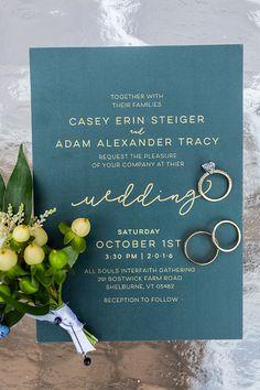 Gorgeous Fall Vermont Wedding Invitation Card Birthday, Invitation Paper, Wedding Invitation Cards, Invitation Design, Mountain Wedding Invitations, Beautiful Wedding Invitations, Wedding Stationary, Our Wedding, Wedding Ideas