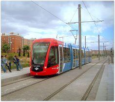 """""""Metro Ligero"""" de Madrid."""