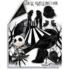 """Jack Skellington - Nightmare Before Christmas"" by rubytyra on Polyvore"