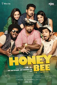 Honey Bee is a 2013 Malayalam romantic comedy film written and directed by Lal Junior. The movie revolves around two friends (Sebastian and Angel) who suddenly discover their love for each other. They elope on the eve of the girl's marriage much to the chagrin of her brothers. The film essays their and the lovers' struggle for survival.