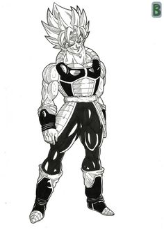 Bardock ssj DBO by bloodsplach on DeviantArt