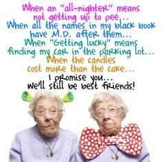"Best Friend Quotes @Allison j.d.m j.d.m Rapp this looks like a card we would send each other! ""I think it's clear why men are intimidated by us."""