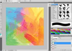 Create a Colorful Paint Background in Photoshop