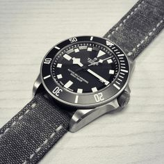 Canvas Strap on a Diver......Got any? - Page 8