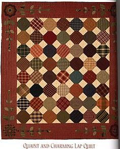 """Quaint and Charming"" quilt by Kim Diehl"