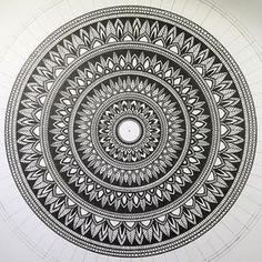 Finished . #mandala#mandalaart#mandaladesign#zenart#zendala#zendoodle#zentangle#tangle#ink#instaart#instadraw#instaartist#instadoodle#illustratation#instadoodles#design#doodle#drawing#doodling#doodleart#sketch#graphicart#detail#mandalas#dots#artwork#patterns#penart#flowerart#mandaladrawing#mandalas