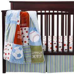 Trend Lab LITTLE MVP - 3 pc crib SET @claptonsrose I have this on my registry at Target
