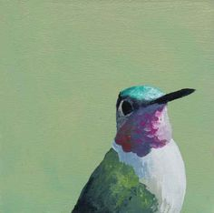 Birds freak me out.....but all these are beautiful paintings.  Looking To Violate Some Rules Of Decency 5 by MincingMockingbird