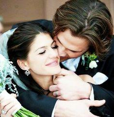 Jared Padalecki (Supernatural) and his wife, Genevieve