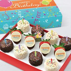 Birthday Wishes Dipped FruitTM Box Fruit GiftsFruit ArrangementsFruit