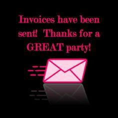 Invoices sent!