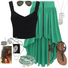 """Waisting Time"" by beautifulnightmares on Polyvore"