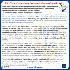 I asked 6 Academic Skills Tutors from Essex University to write JUST the introduction for this IELTS Writing Task 2 question, and this one came out the winner. Get more like this on my website. Ielts Writing Academic, Persuasive Writing, Teaching Writing, Teaching Spanish, Essay Writing Examples, Essay Writing Skills, English Writing Skills, English Letter Writing, Grammar Book Pdf