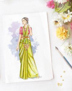 Dress Design Drawing, Dress Design Sketches, Fashion Design Sketchbook, Fashion Design Drawings, Fashion Illustration Template, Fashion Illustration Face, Fashion Illustrations, Fashion Model Sketch, Fashion Sketches