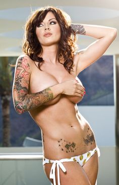 Monica : Inked Girls :: Tattooed Girls Model Search