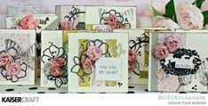 "Kaisercraft ""One Sheet Wonder"" Mother's Day Cards by Alicia McNamara Scrapbook Albums, Scrapbook Paper, Scrapbooking, Glue Crafts, Paper Crafts, One Sheet Wonder, Friendship Cards, Ink Stamps, Some Cards"