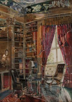 William Savage (b. England 1974) 'The Library'