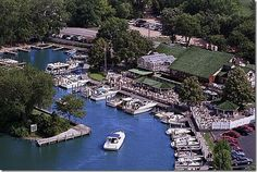Lord Fletchers, Lake Minnetonka, MN.  We have been there, loved watching all the boats go by!
