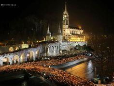 Notre Dame de Lourdes, France ~ Catholic Pilgrimage