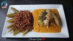 Blondynka Gotuje: Pieczony Kurczak z Masłem Ziołowym