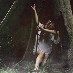 But the forest was too deep, the forest was too dark, she lost her way as she stumbled blindly towards the waiting dawn.