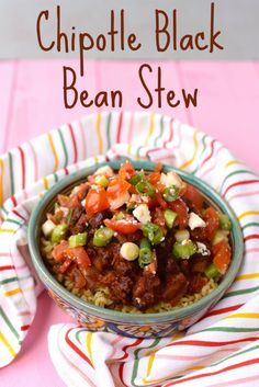 Chipotle Black Bean Stew