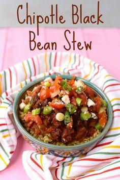Chipotle Black Bean Stew